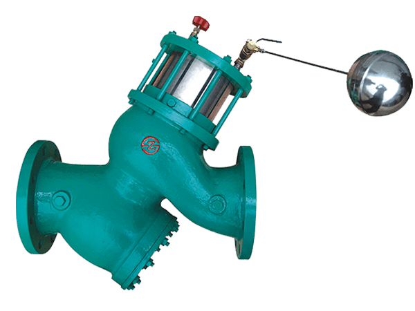 Float Control Valve With Strainer & Piston