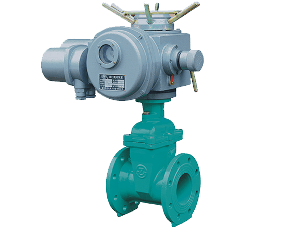 Resilient Gate Valve with Electric Actuator