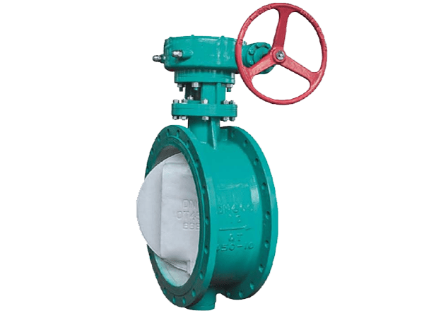Flanged Double Offset Butterfly Valve