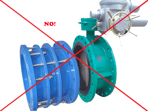 Flexible Flanged Concentric Butterfly Valve
