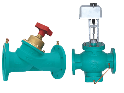 Research and Development of Automatic Flow Balancing Valve