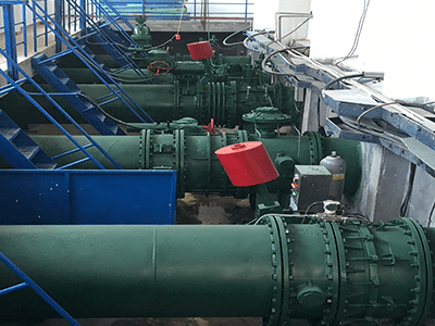 Fuzhou Waterworks Combined Butterfly Check Valve Commissioning Test Site